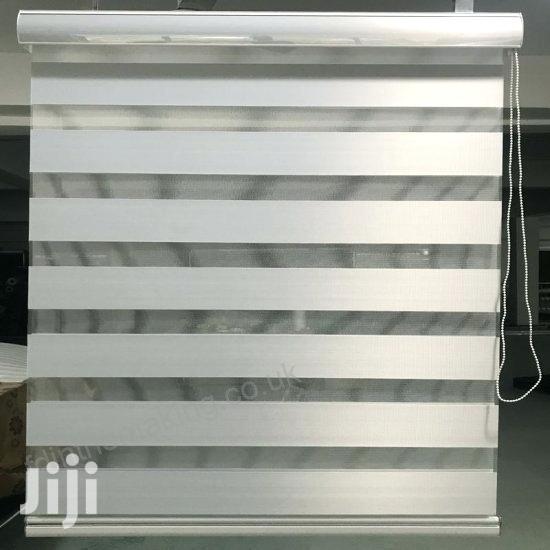 White Zebra Blinds With Free Installation
