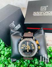 Naviforce Brown Leather Strap | Watches for sale in Greater Accra, Accra Metropolitan
