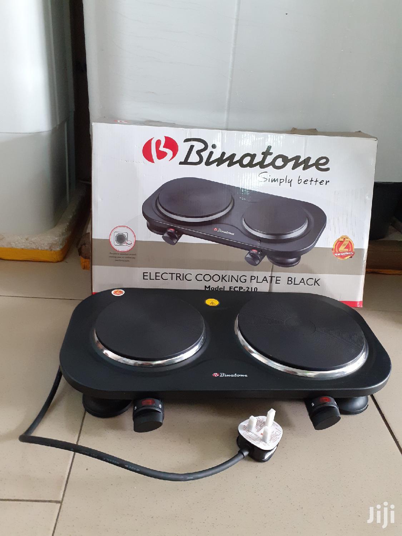 Electric Cooking Plate- Binatone
