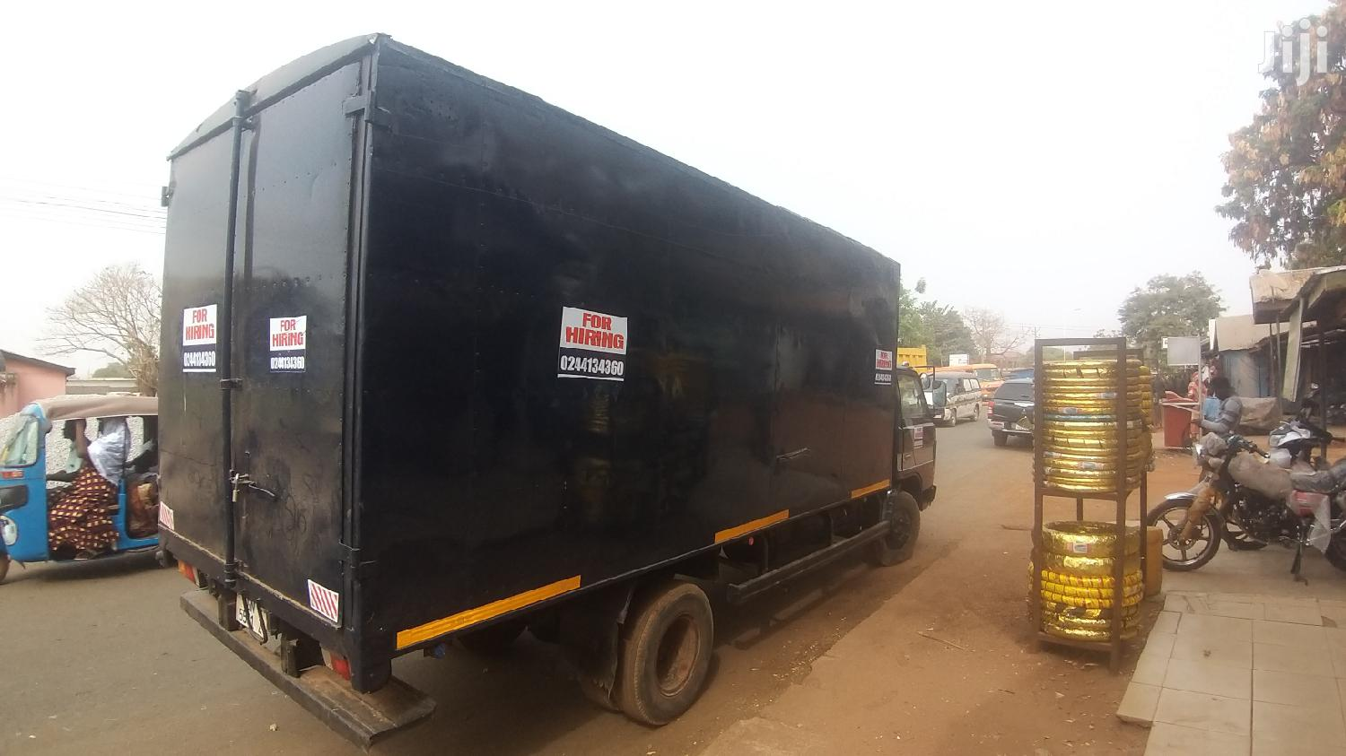 Strong Mazda Swaraj Available For Hiring. Call The Number | Automotive Services for sale in Tamale Municipal, Northern Region, Ghana