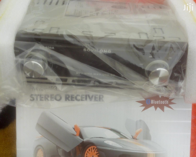 Car Radio and Tape