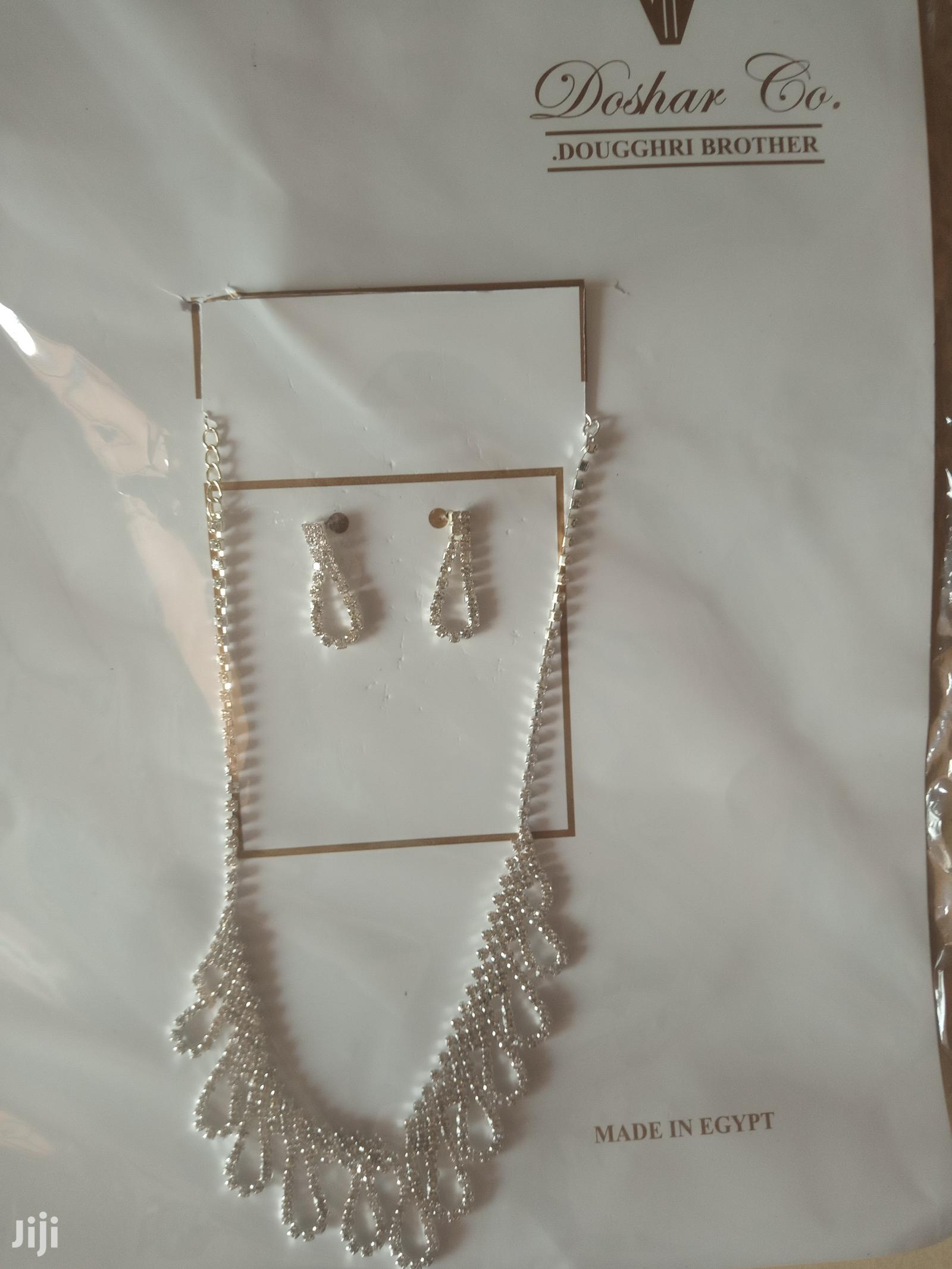 Sliver Necklace With Bracelets & Earrings | Jewelry for sale in East Legon (Okponglo), Greater Accra, Ghana