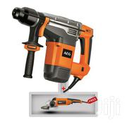 AEG Power Tools KH5 G Sds-max Combi Hammer-1100 Watt Black/Orange. | Electrical Tools for sale in Greater Accra, Achimota