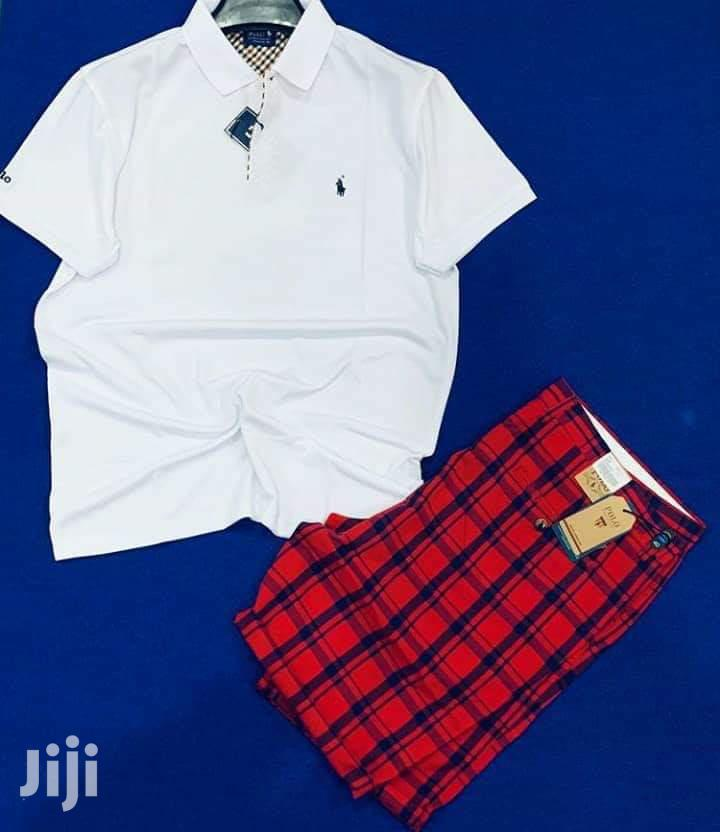 2 in 1 - Polo Shirt + Shorts | Clothing for sale in Burma Camp, Greater Accra, Ghana