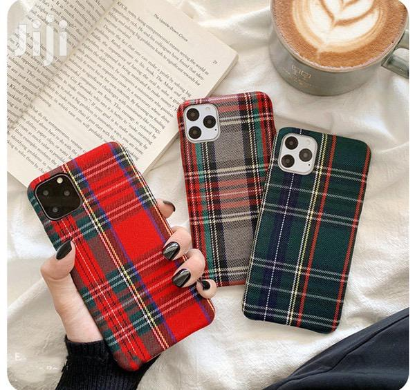 Cloth Fabric Case For iPhone 11promax 11pro 11 Xsmax Xr Xs X 8p 7p 8 7   Accessories for Mobile Phones & Tablets for sale in Ga South Municipal, Greater Accra, Ghana