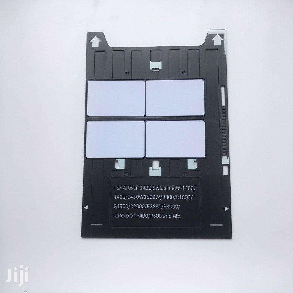 PVC ID Card Tray 4 Cards Printing For Espon A3 Printers 1400,1410,1430
