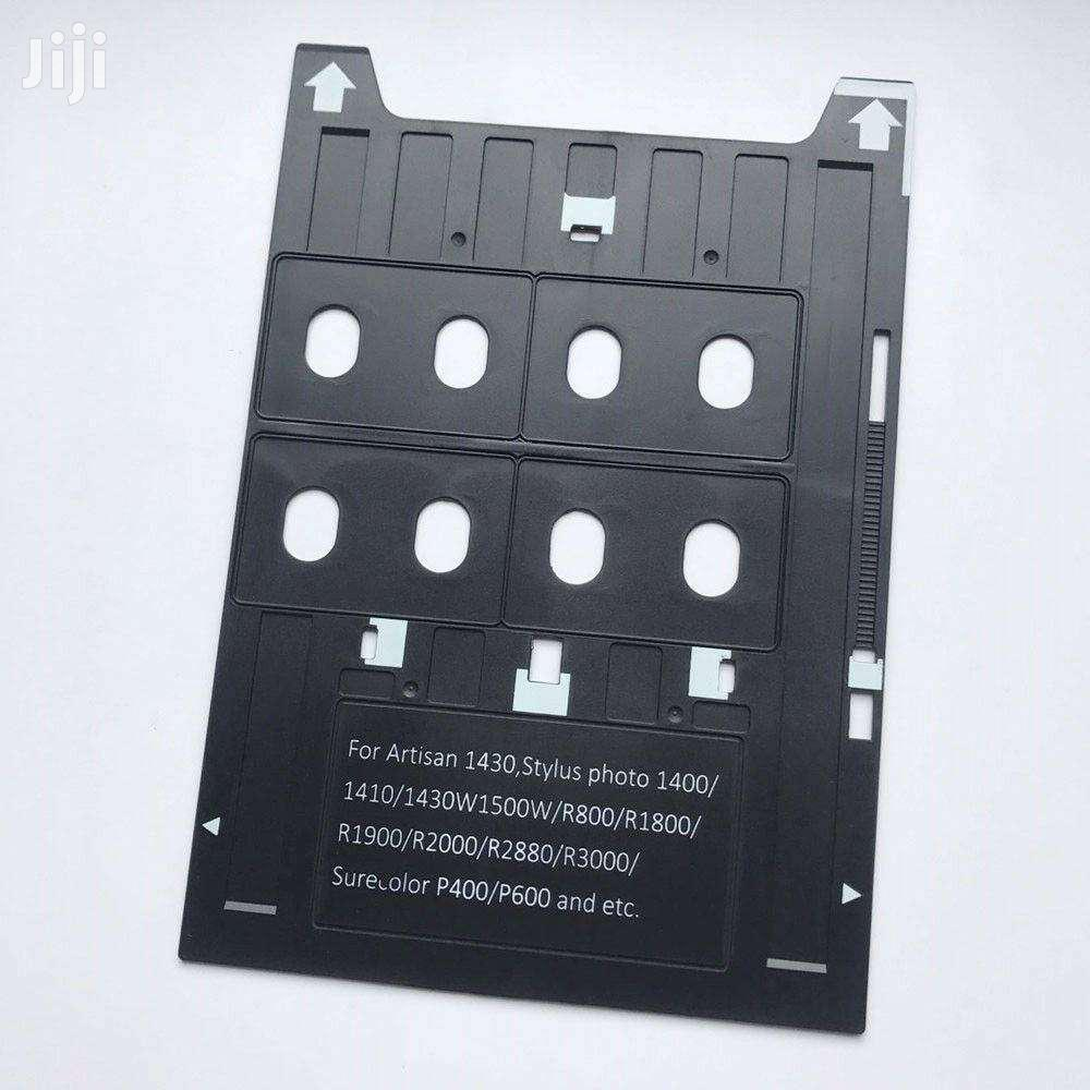 PVC ID Card Tray 4 Cards Printing For Espon A3 Printers 1400,1410,1430 | Accessories & Supplies for Electronics for sale in Accra Metropolitan, Greater Accra, Ghana