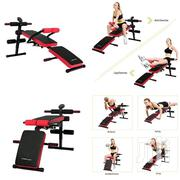 Foldable/Adjustable Abs/Stomach Bench With Waist Support and Monitor | Sports Equipment for sale in Greater Accra, Korle Gonno
