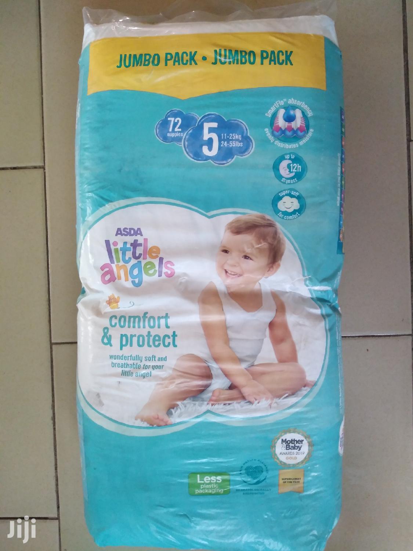 Little Angels Baby Diaper Size 5 Jumbo (72pcs)