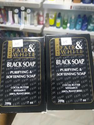 Fair & White Black Soap | Bath & Body for sale in Greater Accra, Achimota
