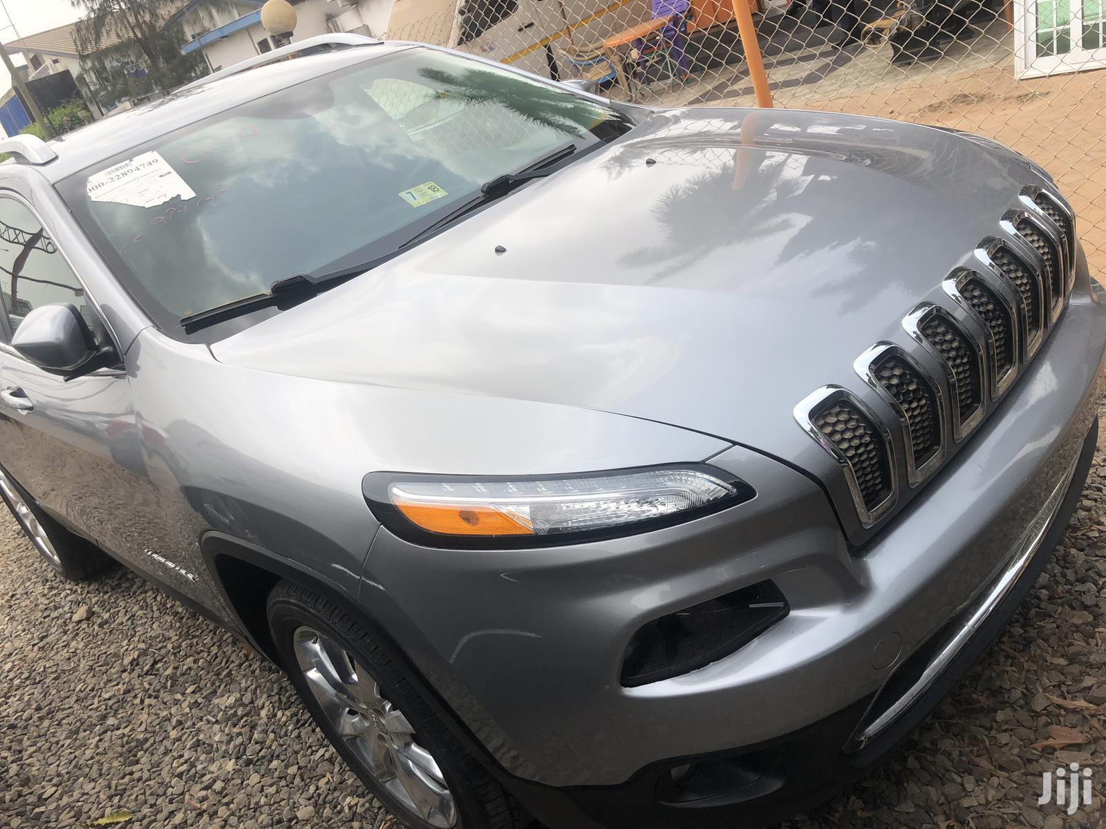 Archive: Jeep Cherokee 2016 Silver