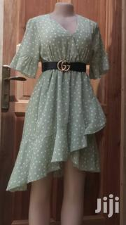 Green Polka Dot Dress | Clothing for sale in Greater Accra, Dansoman