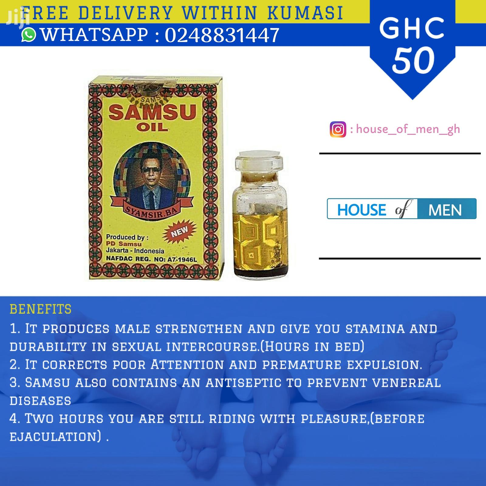 Archive: Original Samsu Super Oil