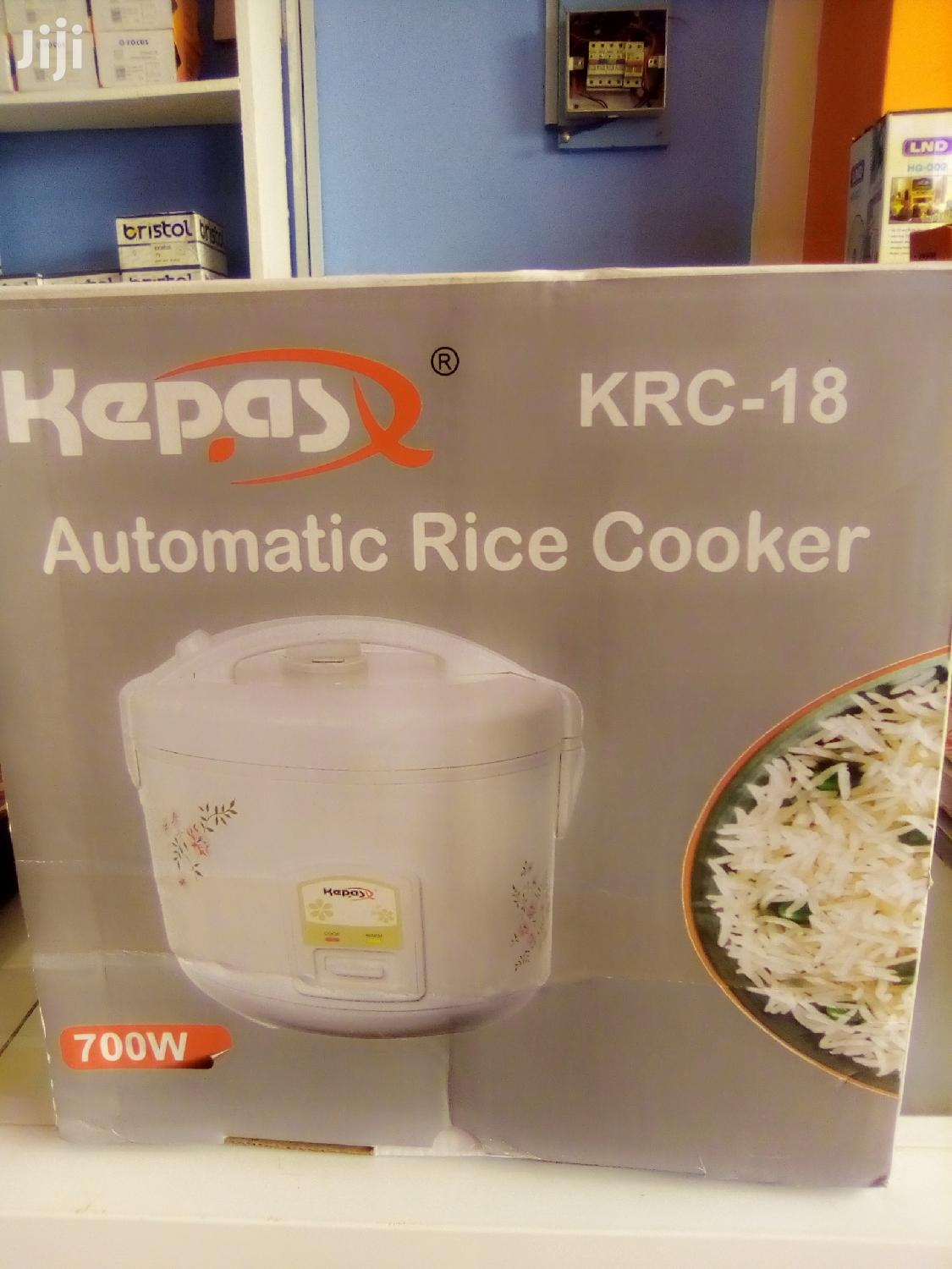 Kepas Automatic Rice Cooker | Kitchen Appliances for sale in Kwashieman, Greater Accra, Ghana