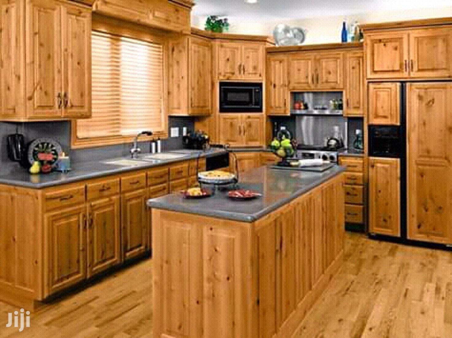 Classy Kitchen Cabinet Designs in Tema Metropolitan ...