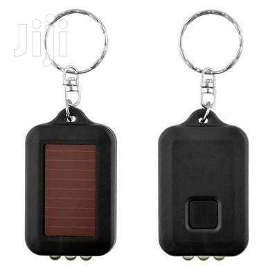 Solar LED Flashlight Light With Key Chain