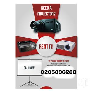 Rent A Projector Now For Occasions | DJ & Entertainment Services for sale in Greater Accra, Darkuman
