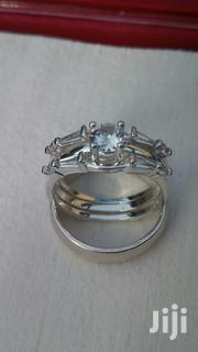 3 Sets Luxurious Sterling Silver Rings for Wedding and Engagement. | Wedding Wear for sale in Greater Accra, Tema Metropolitan