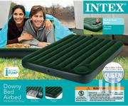 Intex Airbed With Built-In Foot Pump - Queensize, | Furniture for sale in Greater Accra, Ga South Municipal