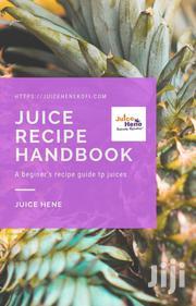 Juice Hene Recipe Handbook | Books & Games for sale in Greater Accra, Adenta Municipal