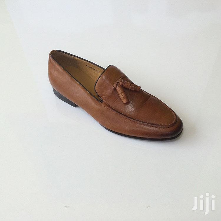 Original Brown Billionaire Leather Loafers Shoe