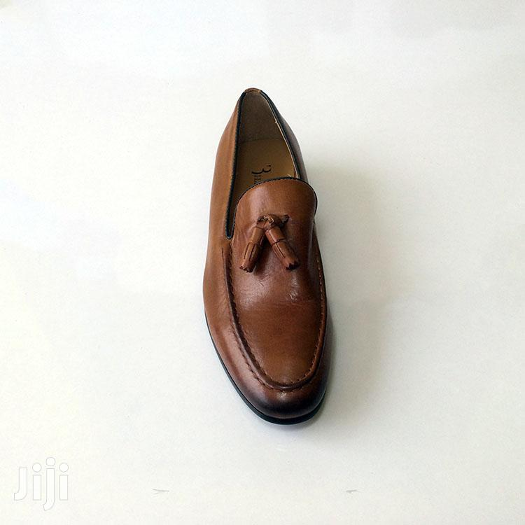 Original Brown Billionaire Leather Loafers Shoe   Shoes for sale in Ashaiman Municipal, Greater Accra, Ghana