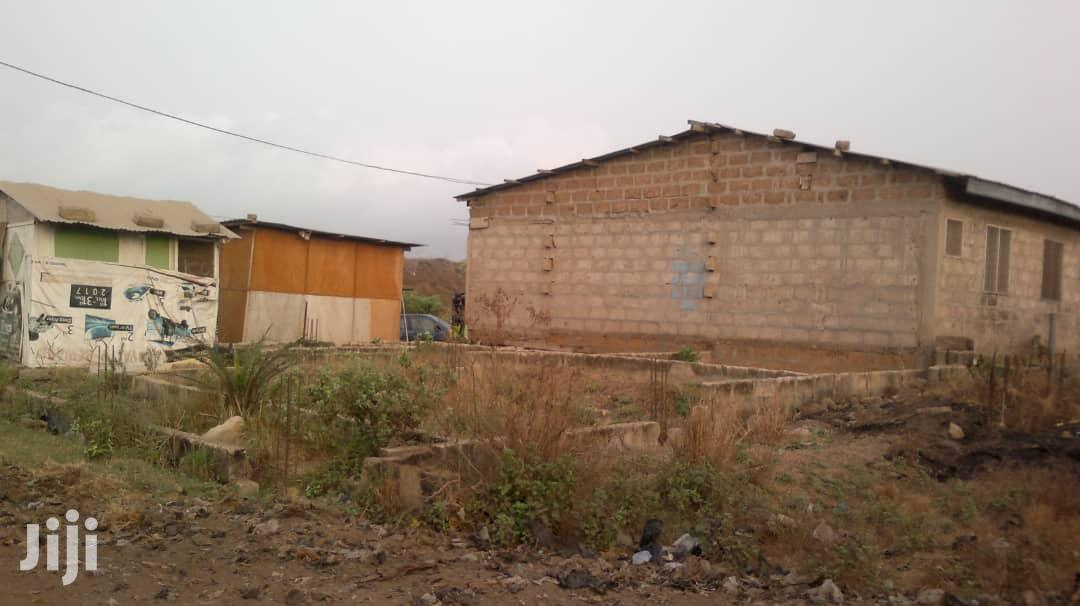 Almost 1 Plot With 2 Chamber and Hall S/C House at Abgobga for Sale | Houses & Apartments For Sale for sale in Achimota, Greater Accra, Ghana