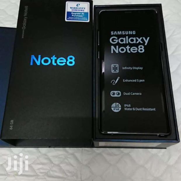 Archive: Samsung Galaxy Note 8 New In Box