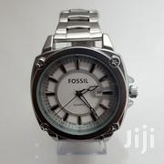 Mens Fossil Silver Chain Wrist Watch | Jewelry for sale in Greater Accra, Ashaiman Municipal