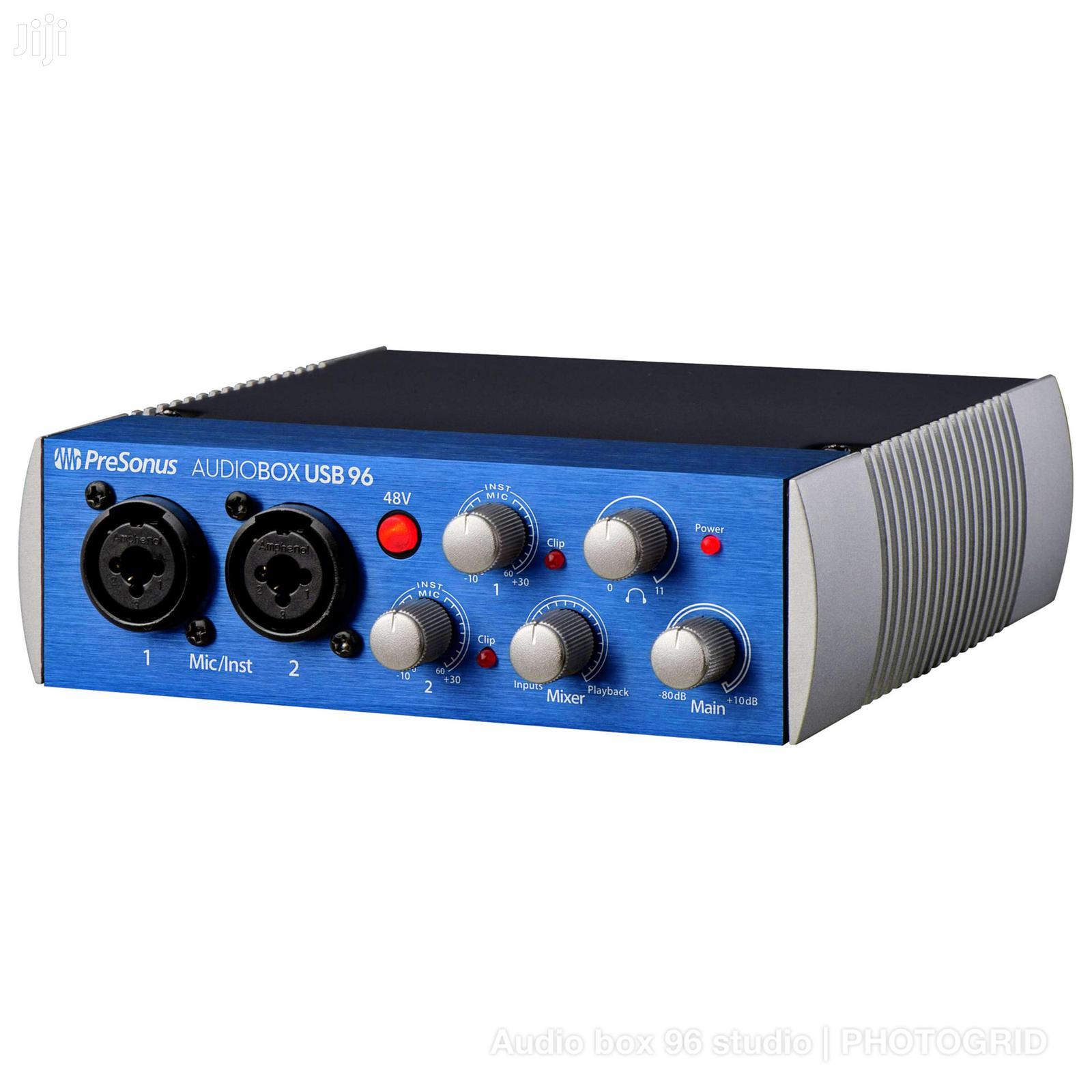 Archive: Pre-Sonus Audio Box 96 Studio