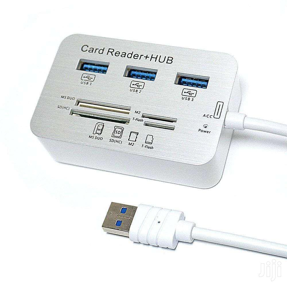 USB HUB + CARD READER 3.0/3.1 | Computer Accessories  for sale in Accra new Town, Greater Accra, Ghana
