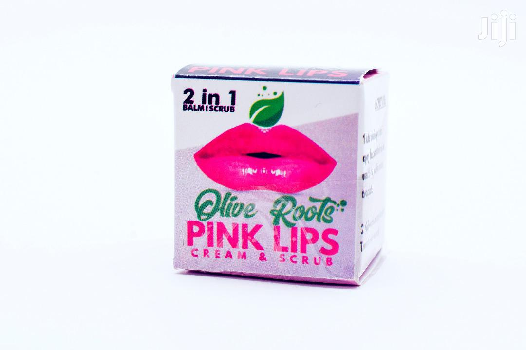 Archive: Pink Lips Balm & Lips Scrub 2in1 Set
