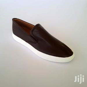 Original Dark Brown Leather Slip-On Sneakers by Timberland   Shoes for sale in Greater Accra, Ashaiman Municipal