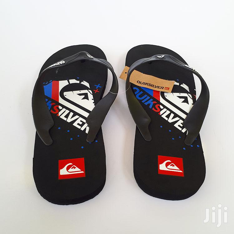 Multicolour Flip-Flop Thong Slippers by Quiksilver