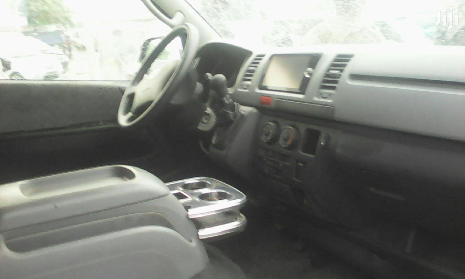 Archive: Toyota HiAce 2012 Silver For Sale