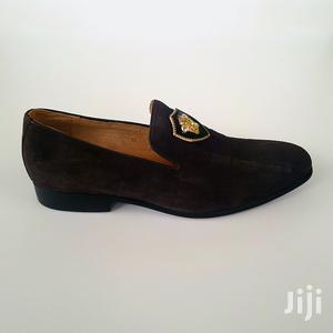 Original Mens Dark Brown Suede Shoe   Shoes for sale in Greater Accra, Ashaiman Municipal