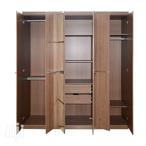 Wooden Wardrobe 6 Doors 2 Drawers   Furniture for sale in Achimota, Greater Accra, Ghana