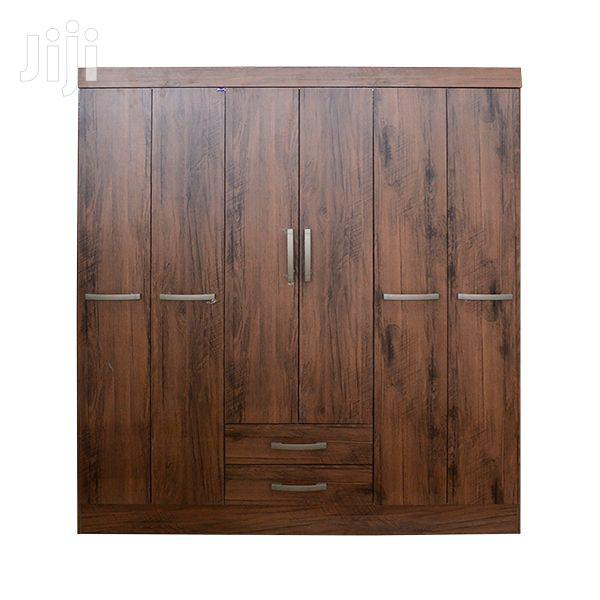 Wooden Wardrobe 6 Doors 2 Drawers | Furniture for sale in Achimota, Greater Accra, Ghana