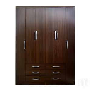 Wooden Wardrobe 6 Doors & 6 Drawers | Furniture for sale in Greater Accra, Achimota
