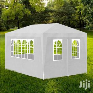 Party Tents With With Side Windows 100% Polyethylene.