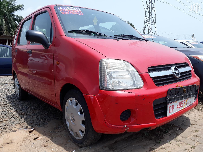 Archive: Opel Agila 2009 1.2 Red
