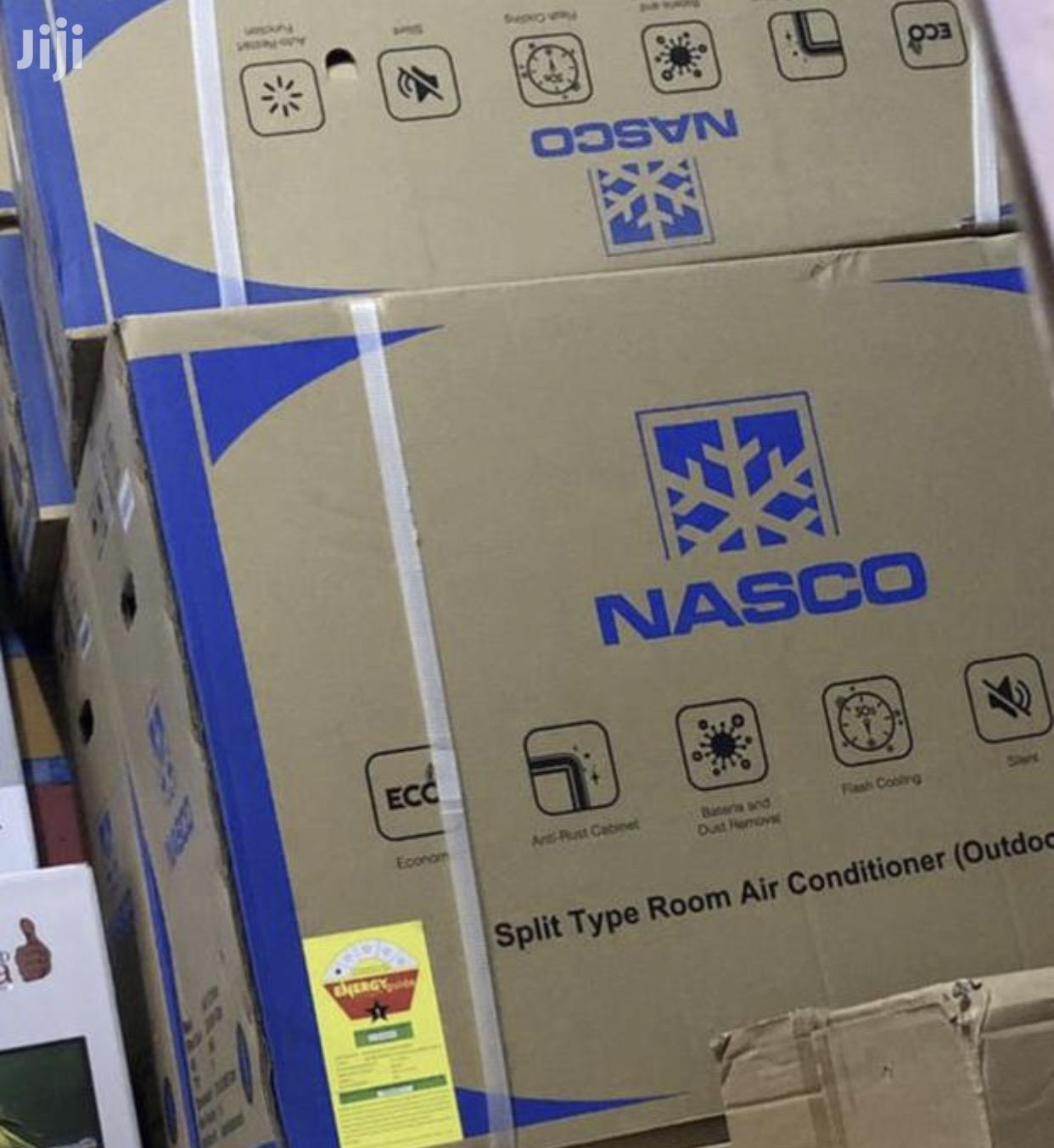 Nasco 1.5 HP Split Air Conditioner Anti Rust R410
