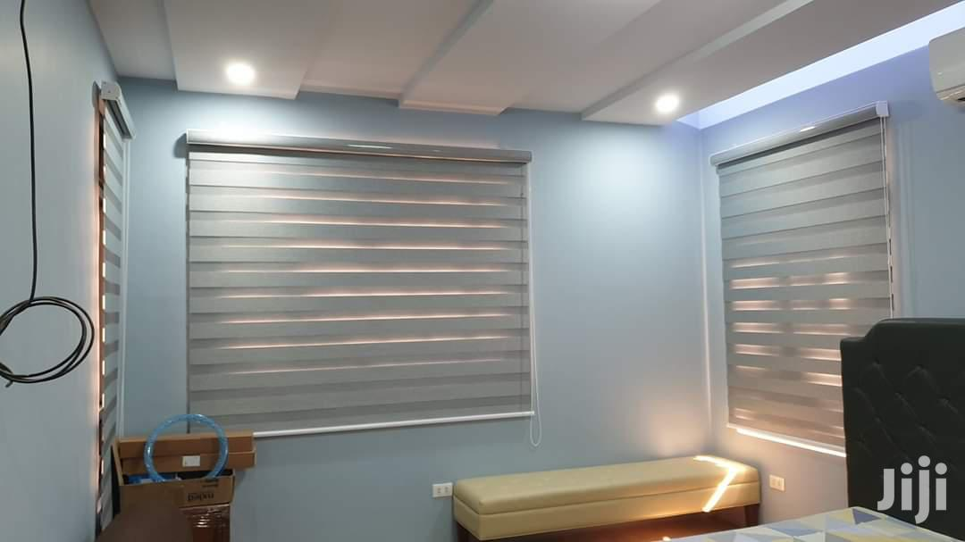 Professional Modern Window Curtain Blinds Installation