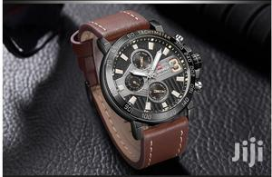 Naviforce Men's Brown Leather Watch   Watches for sale in Greater Accra, Achimota