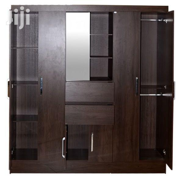 Wardrobe 6 Doors Capela Ebony | Furniture for sale in Achimota, Greater Accra, Ghana