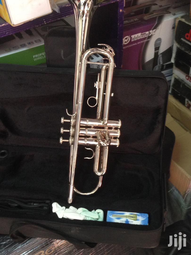 Olympic Gold/Silver Trumpet With Case, Cloth, Oil and Gloves