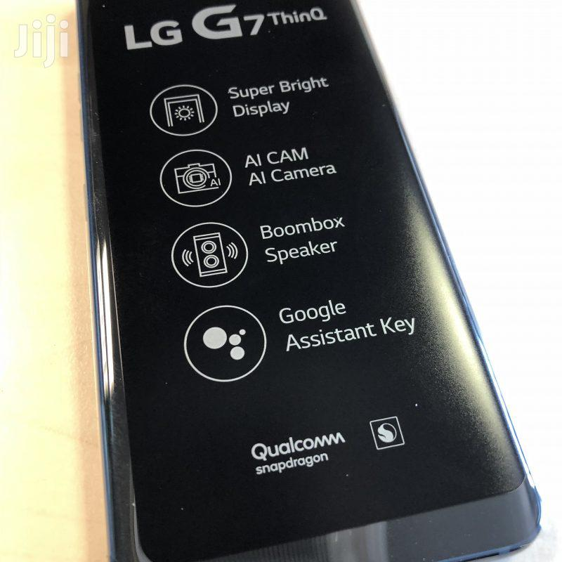 Archive: New LG G7 ThinQ 64 GB Blue