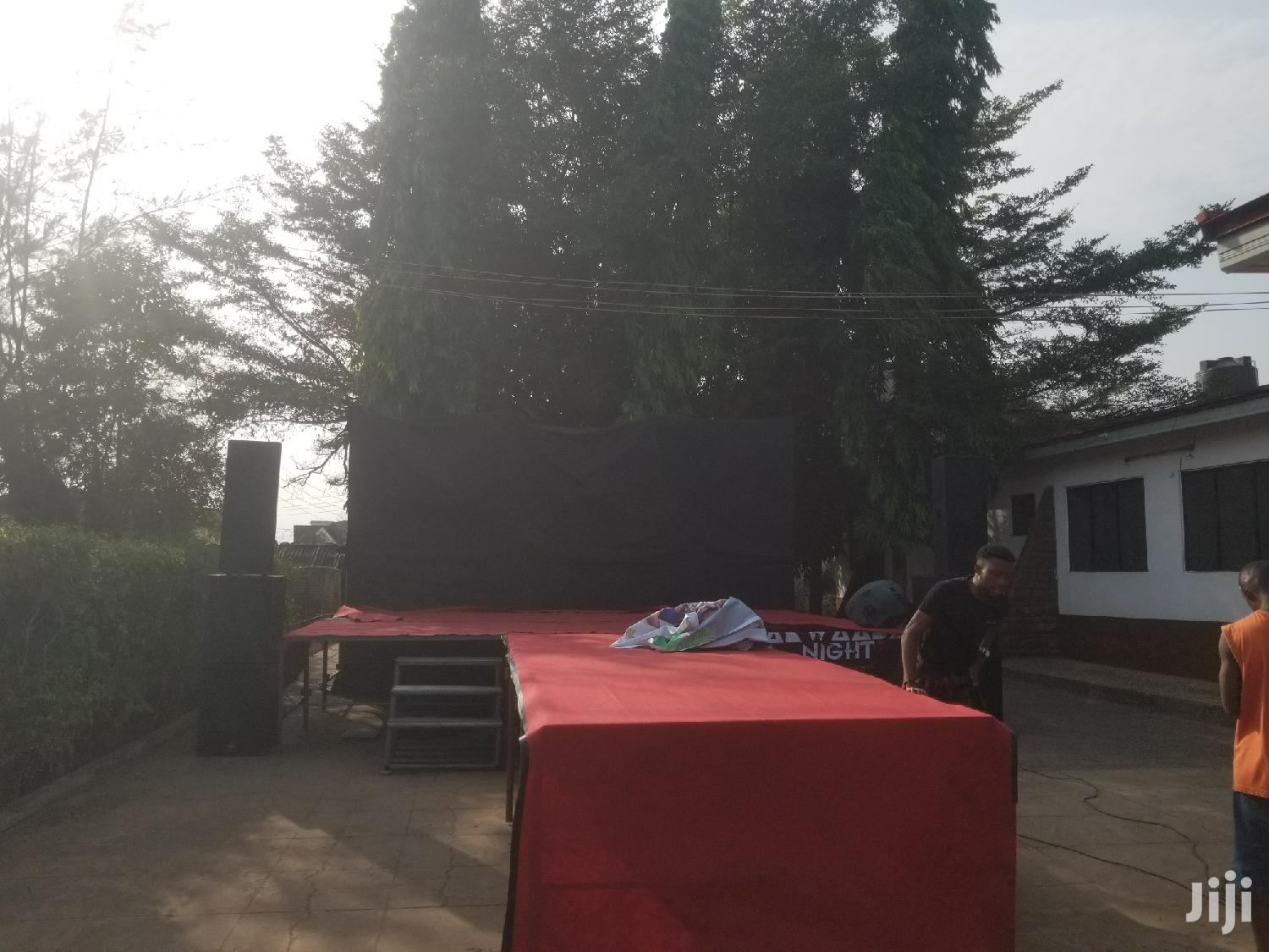 Stage For Rent Opposite West Hills Mall | Party, Catering & Event Services for sale in Accra Metropolitan, Greater Accra, Ghana