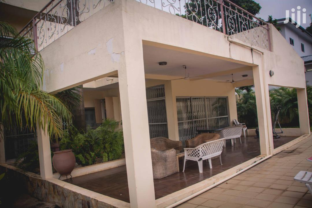 Archive: A Two Story Sandcrete Block Building At Airport Residential For Sale