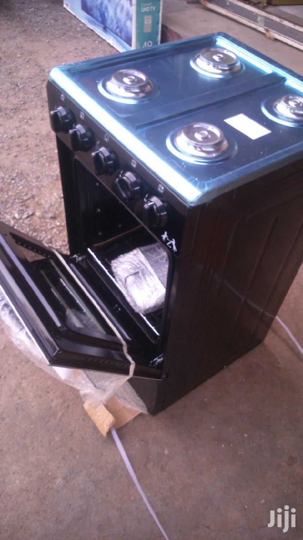 ZARA Gas Cooker 4 Burrner Stove Black